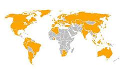 Continental a világban