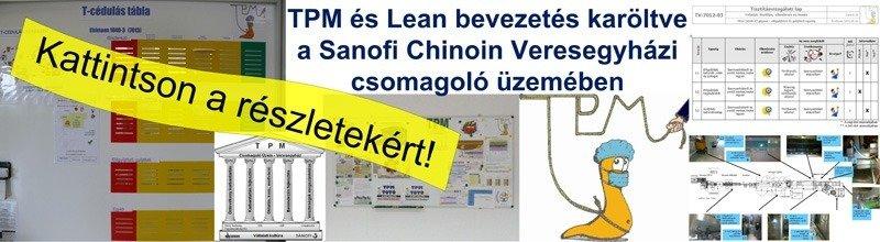 TPM és Lean referenciánk